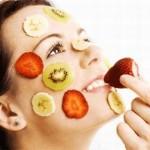 Mascarillas de frutas para una piel radiante
