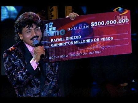 Rafael Orozco en Yo me llamo