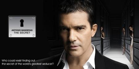 Antonio Banderas y sus perfumes