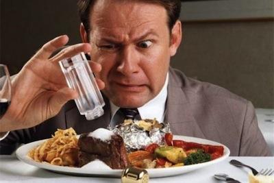 El consumo de sal y la salud