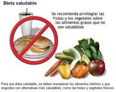 La alimentacion sana