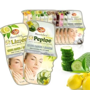 Limpieza facial con Pepino