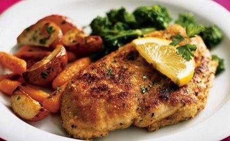 Pollo light al limon