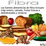 El consumo de fibra y la Salud