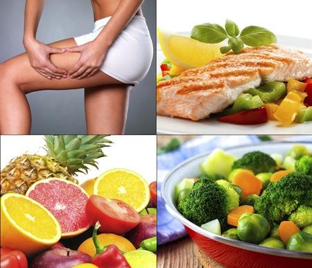 Alimentacion contra la Celulitis
