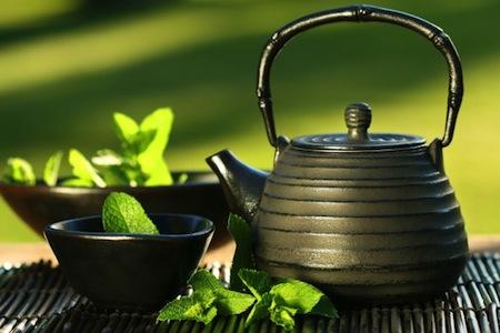Tes de hierbas para la salud de la Piel