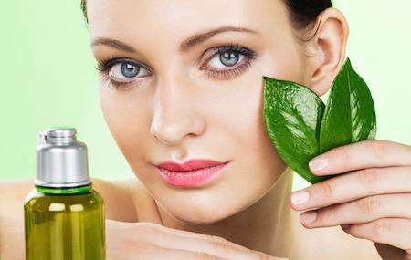Cosmetica natural para verse bella