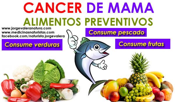 Alimentos que evitan el c ncer de seno vida salud y bienestar - Alimentos contra el cancer de mama ...